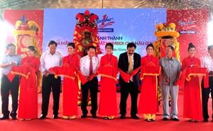Khánh thành nhà máy nước giải khát Number One lớn nhất ĐBSCL