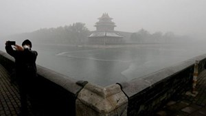 Khói bụi bao trùm Bắc Kinh