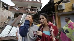 Không có người Việt sống tại khu vực động đất Ecuador