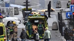 Khủng bố bằng xe tải ở thủ đô Thụy Điển, ba người chết