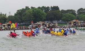 Kịch tính với Lễ hội Đua thuyền sông Hương