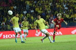 King's cup 2019: Việt Nam đá bại Thái Lan trong phút bù giờ