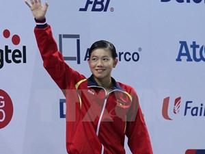 'Kình ngư' Ánh Viên lần đầu vô địch châu Á, bỏ xa người về nhì