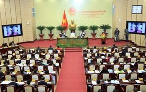 Kỳ họp thứ 4 Hội đồng nhân dân TP Hà Nội