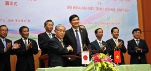 Ký kết thiết lập quan hệ hữu nghị giữa Quảng Nam và Nagasaki (Nhật Bản)