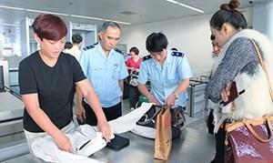 Kỷ luật cảnh cáo đội trưởng hải quan sân bay