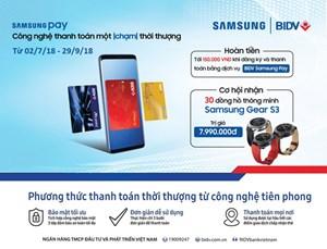 Kỷ nguyên 4.0, BIDV đẩy mạnh dịch vụ thanh toán thẻ trên thiết bị di động