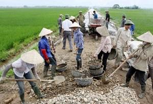 Lạc Thủy (Hòa Bình):Thẩm định nông thôn mới với xã Liên Hòa