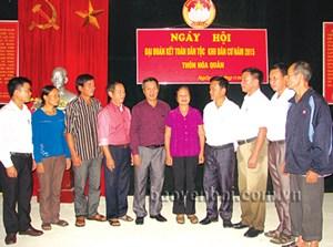 Lai Châu: Tổ chức Ngày hội Đại đoàn kết thiết thực, hiệu quả