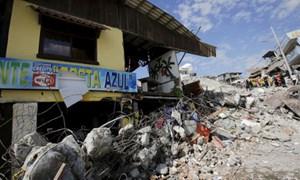 Lại động đất mạnh 6,2 độ richter ở Ecuador