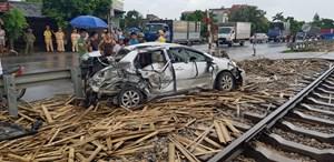Lại tai nạn đường sắt chết người tại Nam Định