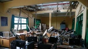 Lâm Đông họp khẩn khắc phục sự cố sập sàn phòng học
