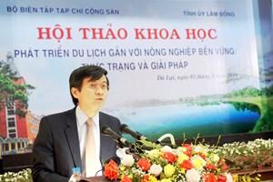 Lâm Đồng muốn tăng nguồn thu từ du lịch nhờ đặc sản nông nghiệp