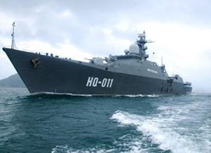 Lần đầu tiên chiến hạm Việt Nam tham dự LIMA