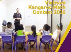 Lần đầu tiên tổ chức kỳ thi Toán Kangaroo tại Việt Nam