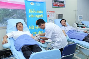 Lần hiến máu cuối cùng của người bác sĩ