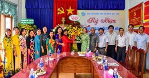 Lãnh đạo tỉnh Kon Tum thăm, chúc mừng Hội LHPN tỉnh nhân ngày 8/3