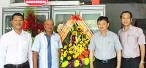 Lãnh đạo TP Đà Nẵng chúc mừng báo Đại Đoàn Kết