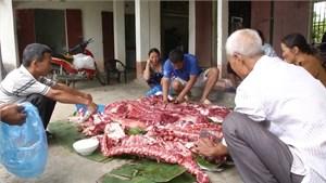 Lào Cai: Khốn đốn tin đồn thịt lợn có sâu
