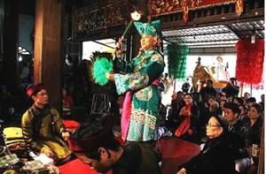 Lễ đón Bằng UNESCO ghi danh di sản Thực hành tín ngưỡng thờ Mẫu Tam Phủ