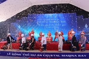Lễ động thổ dự án Crystal Marina Bay Nha Trang
