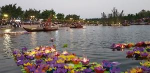 Lễ hội hoa đăng cầu mong bình an và hạnh phúc trong năm mới
