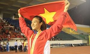 Lê Tú Chinh đoạt HC vàng 100m nữ giải Thái Lan Mở rộng 2017