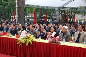 Lễ tưởng niệm Đệ tam Tổ Huyên Quang Tôn Giả tại chùa Côn Sơn