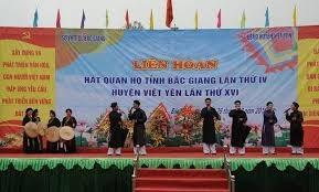 Liên hoan hát Quan họ, Ca trù tỉnh Bắc Giang