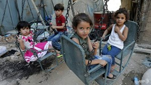 LHQ: 3,5 triệu trẻ em tị nạn không được đến trường