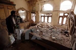 Liên quân không kích ở Yemen làm nhiều thường dân thương vong