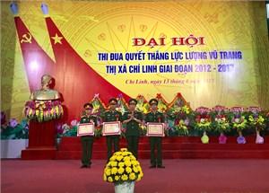 LLVT thị xã Chí Linh: Đẩy mạnh phong trào thi đua quyết thắng