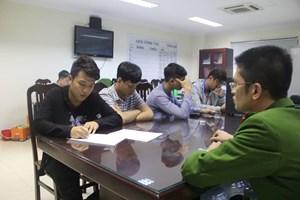 Lộ diện nhóm thanh niên quay clip giả 'khủng bố' ở Hà Nội