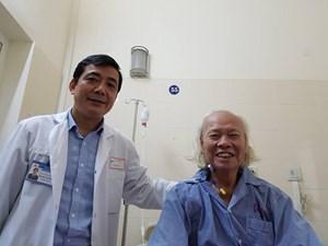 Loại bỏ khối u nặng hơn 10kg cho bệnh nhân 84 tuổi