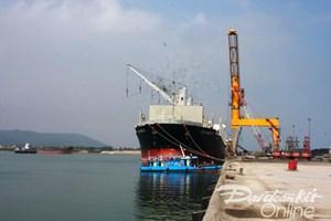Lọc hóa dầu Nghi Sơn tiếp nhận 270.000 tấn dầu thô đầu tiên