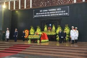 Lời cảm ơn của Ban Tổ chức Lễ tang đồng chí Nguyễn Văn Trân