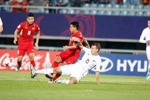 Lời chào ấn tượng từ U20 Việt Nam