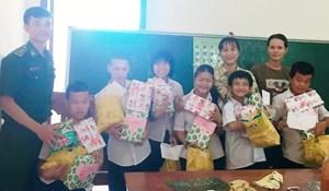 Lớp học đặc biệt nơi vùng bão Chan Chu