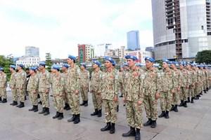 Quân đội Việt Nam chuẩn bị xuất quân lực lượng gìn giữ hòa bình tại Liên Hợp Quốc