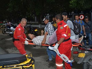 Lựu đạn phát nổ bên trong hộp đêm, hàng chục người bị thương