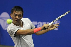 Lý Hoàng Nam thắng nhanh tay vợt người Thái