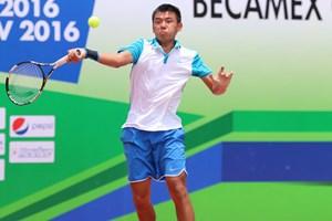 Lý Hoàng Nam vào tứ kết giải quần vợt nhà nghề Singapore