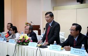 Mặt trận Lào Xây dựng Đất nước tỉnh Champasak muốn hợp tác toàn diện với MTTQ TP Hồ Chí Minh