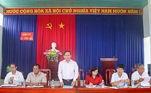 Mặt trận Ninh Thuận giám sát xây dựng nông thôn mới giai đoạn 2015-2018