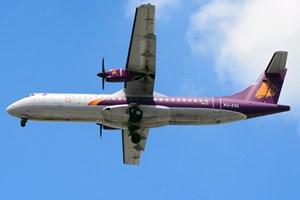 Máy bay bị gió 'giật' khỏi đường băng Tân Sơn Nhất