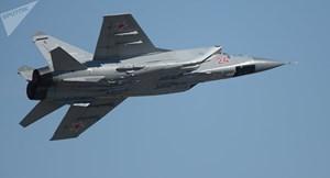 Máy bay chiến đấu MiG-31của Nga gặp tai nạn khi bay huấn luyện