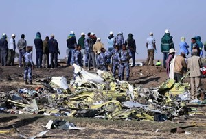 Máy bay Ethiopia có những dấu hiệu lạ trước khi rơi