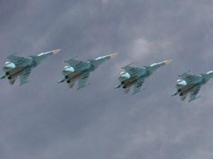 Máy bay Nga lao vào không phận Thổ Nhĩ Kỳ để không kích IS