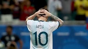 Lionel Messi mờ nhạt, Argentina nhận 'trái đắng' trước Colombia