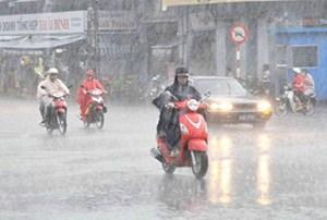 Miền Bắc có nguy cơ dông, lốc và mưa lớn